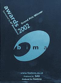 BIMA award for best UK website
