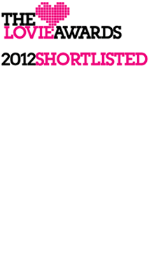 Foxtons shortlisted for Responsive Re-design The Lovie Awards 2012.