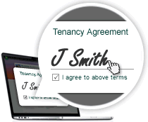 Sign tenancy agreements and other documents online