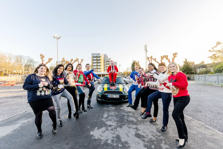 Foxtons Walthamstow Christmas Jumper Day