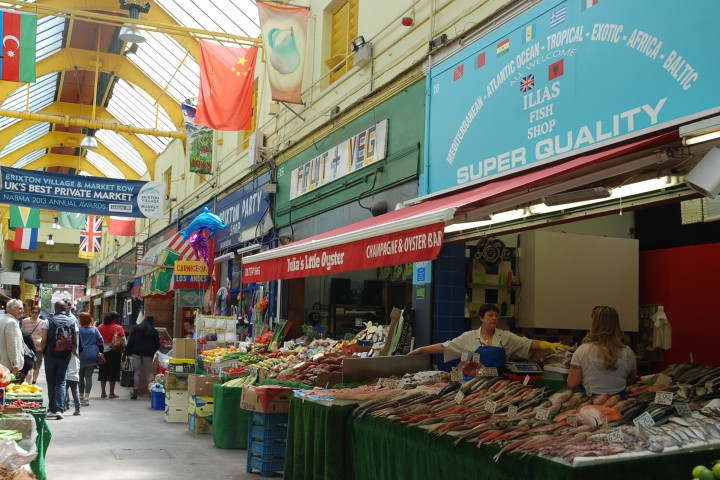 brixton village indoor market