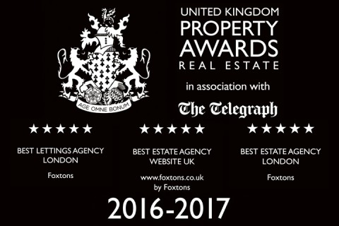 2016 UK property awards Foxtons