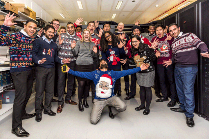 Foxtons IT Christmas Jumper Day