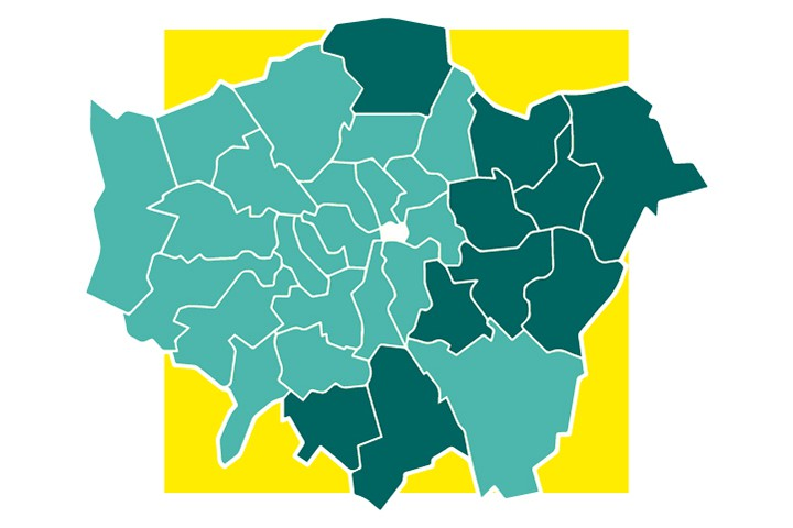 Map Of Uk To Buy.10 Cheapest Places To Buy A Property In London Foxtons Blog News