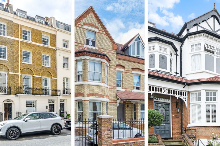 Like Most British Cities, London Has A Mixture Of Architectural Styles,  From The Elegant Stucco Fronted Georgian Homes Surrounding Regentu0027s Park To  The ...