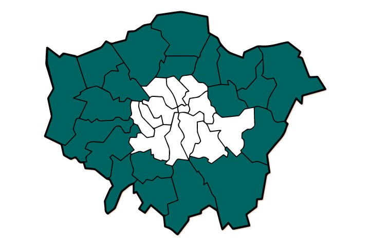 Map Outer London.Why It Makes Sense To Invest In Outer London Right Now Foxtons