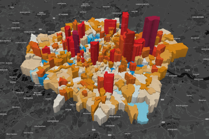 Essential data maps for London property investors - Foxtons Blog & News